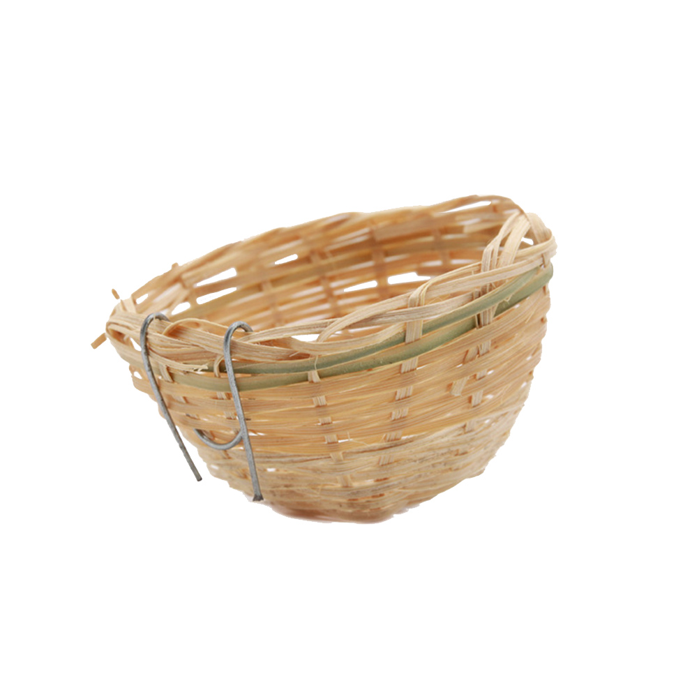 2Pcs Bird Nest Artificial Durable Bowl Shaped Novelty Bird Supplies Pet Supplies Bird Nest For Puppy Bird Pets