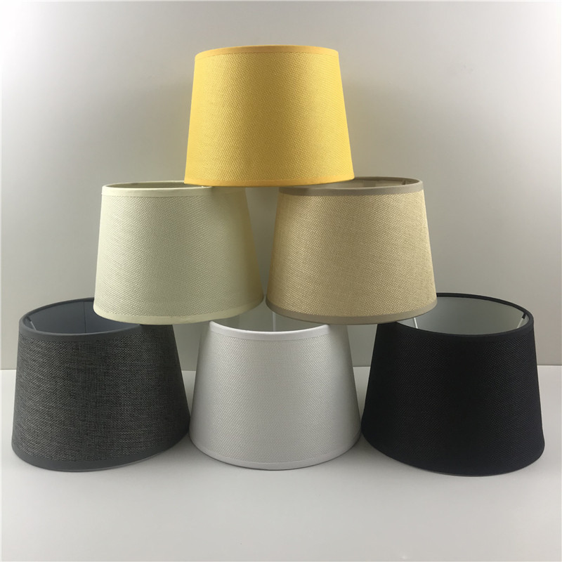 Lampshade Linen Lampshade TC Cloth Lampshade Foreign Trade Export Profession Customizable