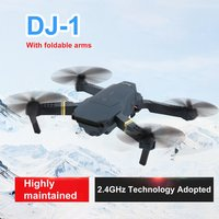 DJ 1 2.4Ghz WIFI FPV With Wide Angle HD Camera High Hold Mode Foldable Arm RC Quadcopter Drone RTF