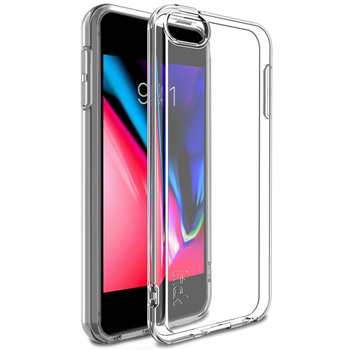 Case for Apple IPod Touch 6 7 IMAK 1.3mm Ultra-Thin Skin Clear Silicone Case for IPod Touch 7 6 Shockproof Soft Back Cover image