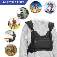 Chest-Bag for Fishing-Mountaineering Cycling Camping Hiking Outdoor-Backpack Reflective-Strips