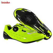 NEW BOODUN riding lock shoes MTB road bike lock shoes professional competition quality ultra light breathable riding lock shoes boodun breathable mountain cycling shoes leisure sports outdoor mtb road bike bicycle lock riding shoes women