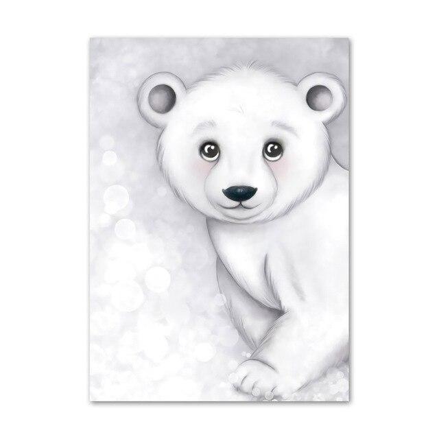 Купить алмазная живопись «сделай сам» уплотнение полярный медведь пингвин