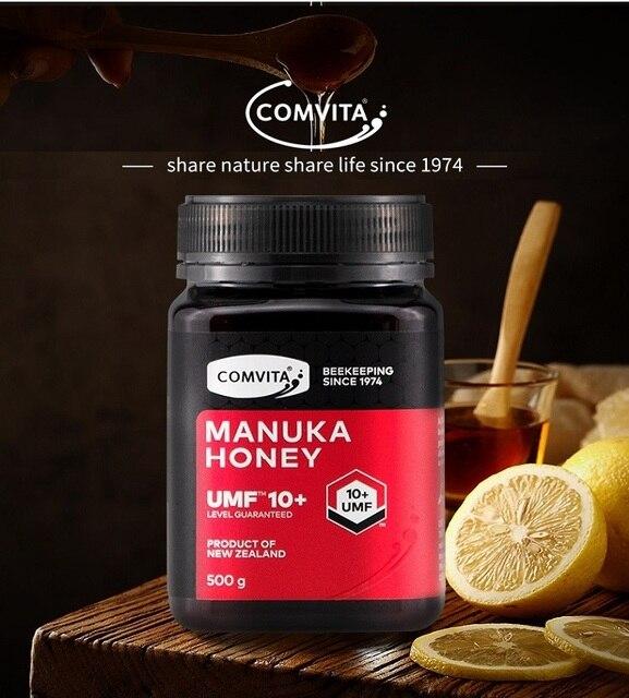 NewZealand 100% 정품 Comvita Manuka Honey UMF10 + 소화 건강 및 호흡기 기침을위한 정통 슈퍼 프리미엄 꿀