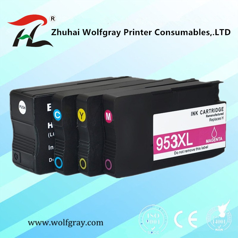 Compatible Ink Cartridge <font><b>953</b></font> 953XL for <font><b>HP</b></font> pro 7740 8210 8218 8710 8715 8718 8719 8720 8725 8728 8730 8740 printer image