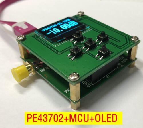 PE43702 +MCU +OLED 9K-4GHz 0.25dB 31.75dB Digital RF Attenuator Module