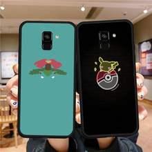 Funda de Pokémon para teléfono Huawei, carcasa blanda negra para Huawei P9 P10 P20 P30 P40 Lite Por PSMART 2019