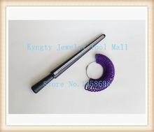 Ювелирные изделия делая кольцо измерительная палка и Пластиковая