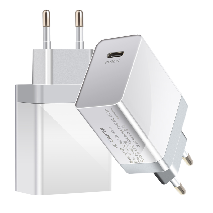 AIXXCO Quick Charge 4.0 3.0 QC PD <font><b>Charger</b></font> <font><b>30W</b></font> QC4.0 QC3.0 <font><b>USB</b></font> Type C Fast <font><b>Charger</b></font> PD <font><b>Charger</b></font> image
