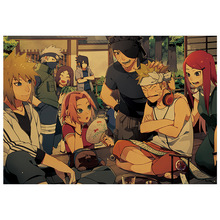 Naruto Anime Kraft Paper Poster Home Wall Sticker Decoration Painting Room Dining Room Picture Painting anime naruto kraft paper poster home wall sticker decoration painting room restaurant picture art painting painting