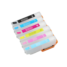 Ink-Cartridge Refillable Ep-906f-Printer Compatible EPSON 6PCS UP for Ep-306/Ep-706a/Ep-755a/..
