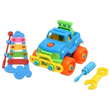 Toy Educational Child Kid 4-Note Car Hand Play Baby-Boy-Disassembly-Assembly Classic