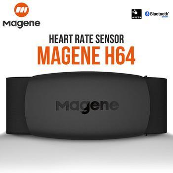 Magene Mover H64 pulsometr Bluetooth4.0 ANT + magene czujnik z pas piersiowy komputer rower Wahoo Garmin BT opaska sportowa
