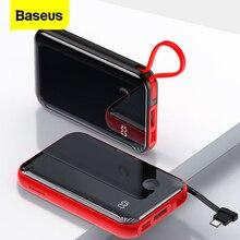 Baseus 10000mAh Power Bank Portable Charger Mini 10000 mAh P