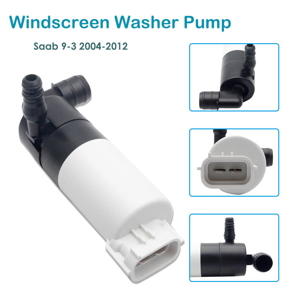 Windscreen Washer Pump Motor For Saab 9-3 04-12, 12826943 Automotive Windshield Motor Washing Pump