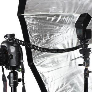 Image 4 - خارج الحذاء TTL كابل واجهة متعددة حذاء خارج الكاميرا TTL فلاش الحبل متوافق مع سوني أدي/P TT تمديد 2 متر كاميرا TTL Flash