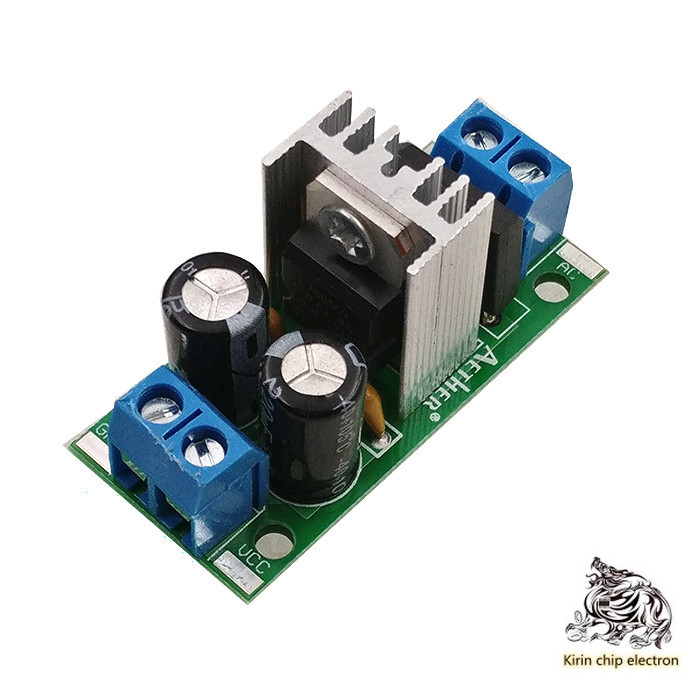 5pcs / Lot L7805 Lm7805 Three Terminal Voltage Regulator Power Module 5V 1.5A Rectifier Filter Power Converter