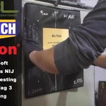 Тестовое видео-MILITECH HG2 NIJ 0101,07 и NIJ IIIA 0101,06 тест мягкой брони ing-Part 2. 44 Magnum