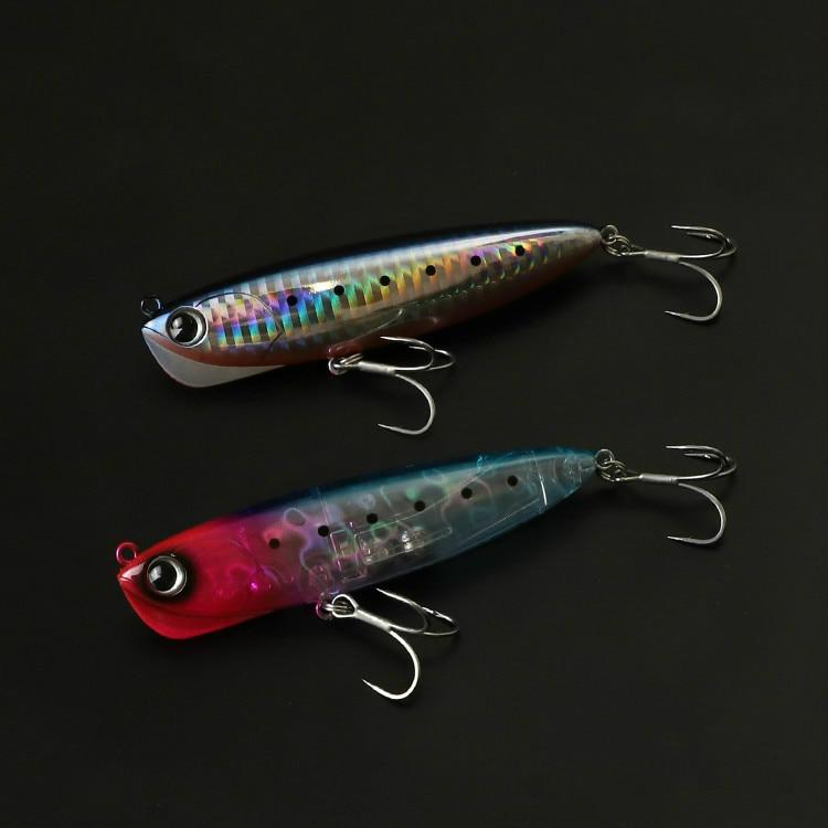 Bassland JAPAN Hard Pencil Fishing Lure Sinking Artificial Baits Somari Long Casting 90mm 18g Catfish Bass Fishing Baits