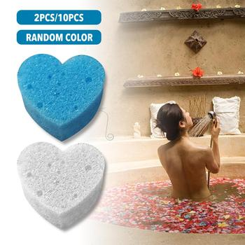 10PCS Oil Absorbing Sponge Swimming Pool Hot Tub And Spa Heart Shaped Absorb Sludge Dirt And Scum image