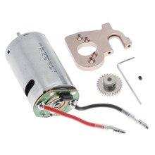 Rc carro peças de reposição 144001 550 escovado base montagem do motor para wltoys 1/14 rc carro