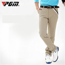 PGM Sportswear Golf Pants Men Stretch Breathable Quick Dry Golf Trousers Clothing Table Tennis Full Sleeve Winter Autumn Pants(China)