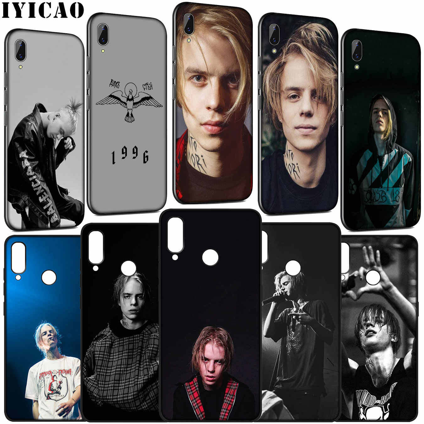 IYICAO Russia rapper Pharaoh Hot singer Soft Case for Huawei Y9 Y7 Y6 Prime 2019 Honor 20 10 9 9X 8C 8X 8 Lite 7C 7X 7A Pro