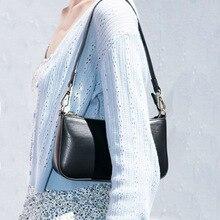 여성 빈티지 어깨 가방 캔버스 작은 어깨 가방 Ladys 패션 Subaxillary 가방 럭셔리 스타일 핸드백 벨라