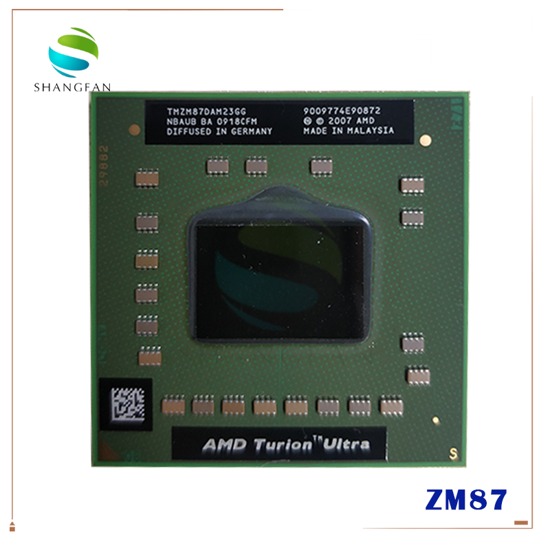 AMD Turion 64 X2 Mobile Technology RM-77 RM 77 RM77 2.3 GHz Dual-Core Dual-Thread CPU Processor TMRM77DAM22GG Socket S1