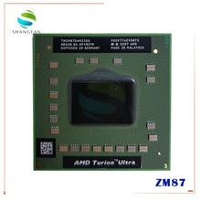 Processeur pour ordinateur portable AMD Turion x2, Ultra ZM87 ZM, 87, 2.4GHz, prise S1