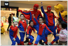 Cosplay Carnival Christmas Superman Costume Spiderman Batman Zorro Halloween Costumes For Kids Superhero Capes Anime