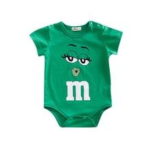 Baby Jumpsuit Short-Sleeve Summer Rompers Bebe Body Baby-Boy-Girl Infant Cartoon Ropa