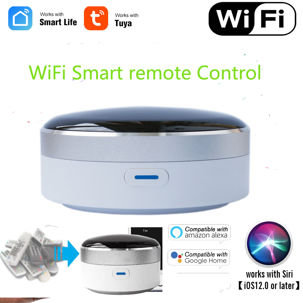 Wifi Remote Control Smart Universal Remote Control IR Switch For Smart Home Automation Works With Google Assistant Aleax Sir
