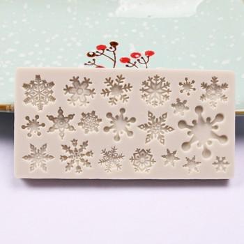 Boże narodzenie silikonowa miękka forma do cukierków czekoladowa dekoracja ciasta forma do pieczenia narzędzia ozdoby świąteczne szczęśliwego nowego roku рождество 20 tanie i dobre opinie CN (pochodzenie) Home Garden Ekologiczne Drop shippping