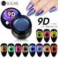UR SUGAR 9D Galaxy кошачий глаз Магнитный Гель-лак 7 мл Хамелеон отмачиваемый эмалированный УФ-гель лак для ногтей лак кошачий магнитный гель