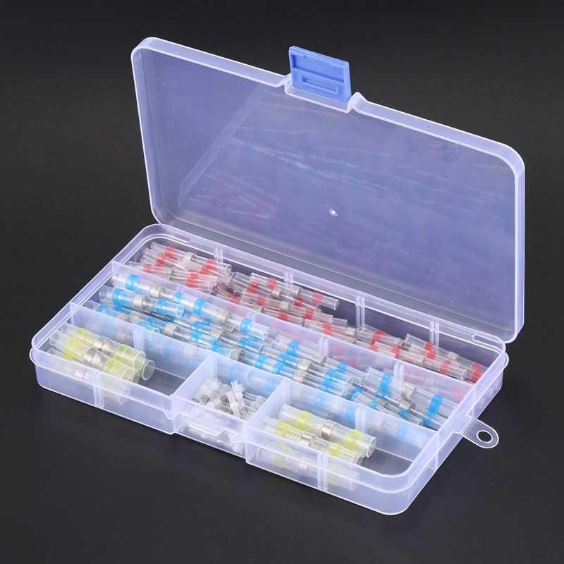 ホット販売 100 個 4 サイズ防水オプトカプラ熱収縮チューブ端子コネクタとボックス