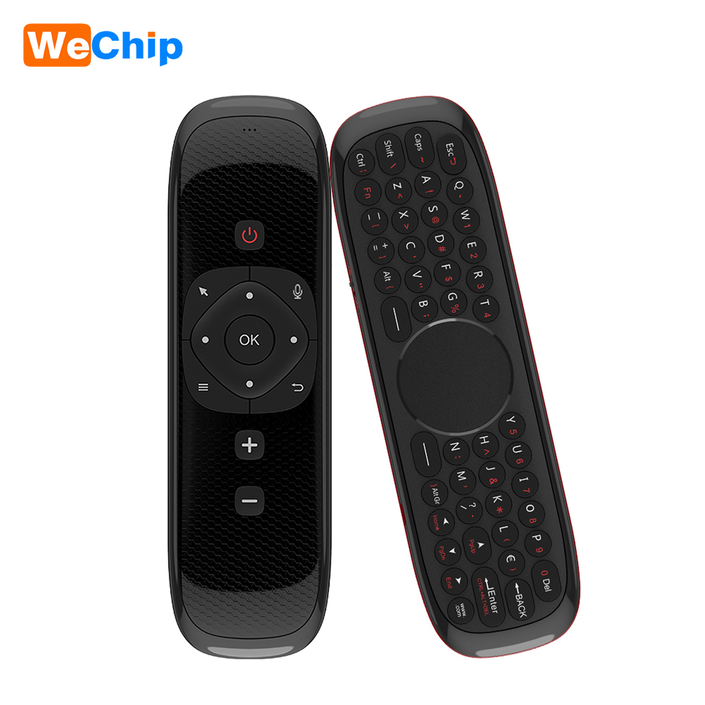 WeChip Smart Voice Remote 2.4G Wireless Air Remote Mouse Control with Gryo for Android TV Box PC Projector Laptop