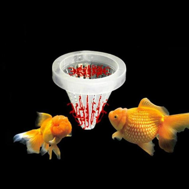 1pc Red Worm Feeder Funnel Cup  3