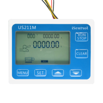 US211M Hall czytnik czujnika przepływu wody 24V czytnik przepływu kompatybilny ze wszystkimi naszymi czujnikami przepływu wody efekt halla tanie i dobre opinie Ultisolar Hydraulika CN (pochodzenie) US211M 0-9999