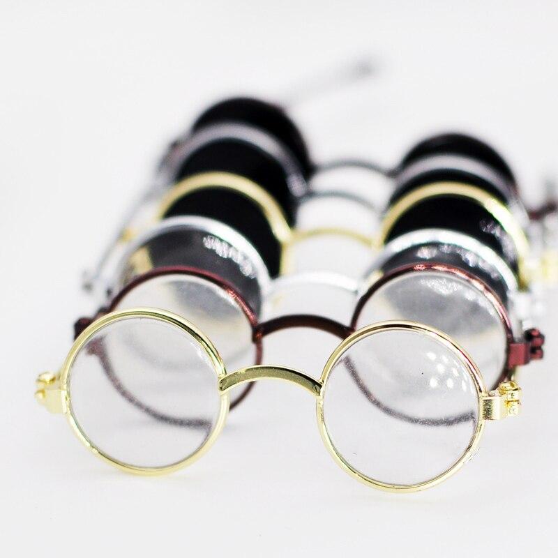 Allaosify Doll/mini Diy Handmade Doll Accessories Candy-colored Glasses BJD Glasses Cloth Glasses