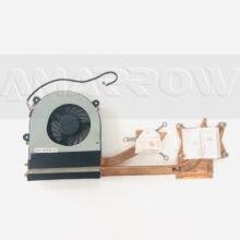 Cpu laptop Original ventilador de refrigeração do dissipador de calor Para CLEVO K590S CW3S50 K650S K650C K660E K790S W370 W370SS W370N W370et W370SS W370SK