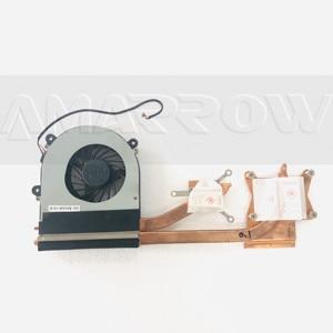Original laptop cpu cooling fan heatsink For CLEVO K590S CW3S50 K650S K650C K660E K790S W370 W370SS W370N W370et W370SS W370SK(China)