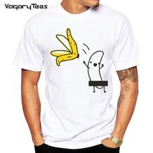 T-Shirt manches courtes motif banane, humoristique et de haute qualité, 2020