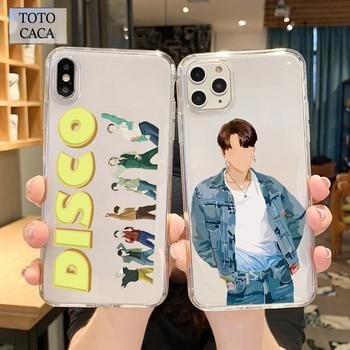 2020 New Album DYNAMITE Soft Phone Case for Samsung S8 S9 S10 S20 Plus Case for Galaxy A10 A20 A40 A50 A51 A70 Cover Kpop Korean