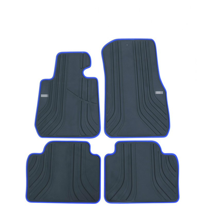 Special Rubber Car Floor Mats Waterproof Anti Skid Carpets For