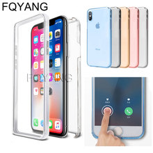 360 TPU Cover Case for iphone 11 Pro Max 2019 Soft Silicone Tpu Full For xs max xr x 6 6s 7 8plus Funda Back Coque