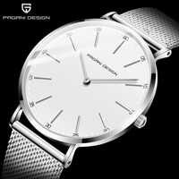 Reloj Mujer 2020 PAGANI diseño blanco Casual malla Correa moda Reloj de cuarzo hombre marca de lujo Reloj impermeable Reloj Masculino
