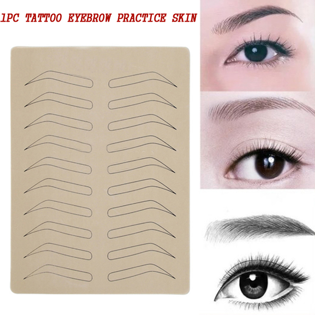 24 Styles Eyebrow Grooming Stencil Kit MicrobladingTemplate Permanent Makeup Eyebrow Training Skin Tattoo Supplies Shaping Tools