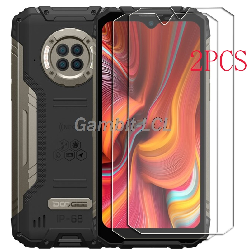 Para doogee s96 pro vidro temperado protetora em s96pro 6.22 polegada protetor de tela capa do telefone filme