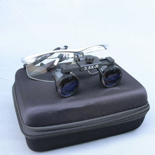 Medical Loupe 2.5/3.5X420mm Binocular Magnifier Medical Dental Surgical Loupes+3W LED Medical Headlight Headlamp цена 2017
